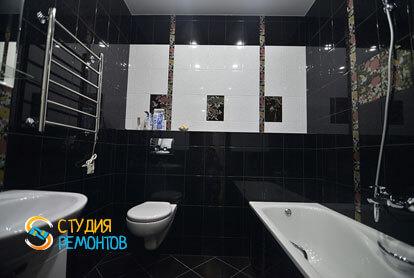Косметический ремонт санузла в однокомнатной квартире 35,5 кв.м.