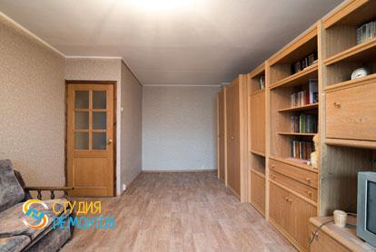 Косметический ремонт жилой комнаты в однокомнатной квартире 37,5 кв.м.
