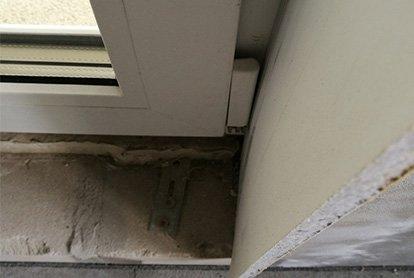 Неправильно выполнены оконные откосы в квартире