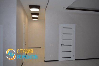 Евроремонт коридора в квартире-студии 27,2 кв.м.