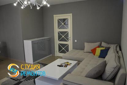 Евроремонт спальной зоны в квартире-студии 23 кв.м.