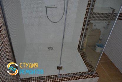 Евроремонт ванной в квартире-студии 27,2 кв.м. фото 2