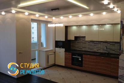 Капитальный ремонт кухни в квартире-студии 25 кв.м.