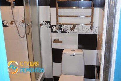 Капитальный ремонт санузла в квартире-студии 25 кв.м. фото 3