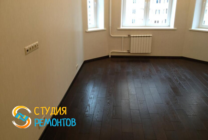 Капитальный ремонт спальной зоны в квартире-студии 25 кв.м. фото 2